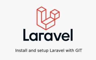 How to install and set up Laravel with Git?